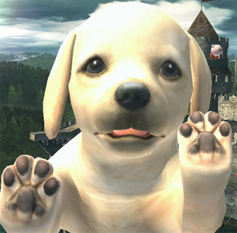 Nintendog in Super Smash Bros. Brawl on Wii