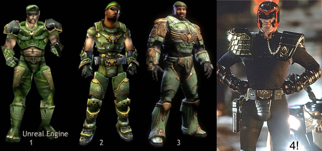 Character Design Unreal Engine : Unreal tournament release expected alongside