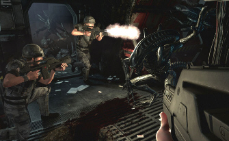 Kill or be killed in Aliens: Colonial Marines (screenshot)