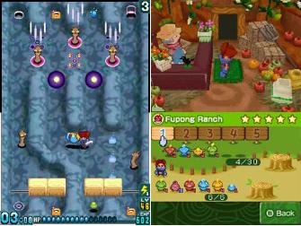 Away Shuffle Dungeon 2D and 3D DS screenshot