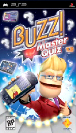 Pre-order Buzz! Master Quiz for PSP