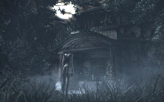 Fatal Frame 4 (Wii) retains the creepy atmosphere in this screenshot