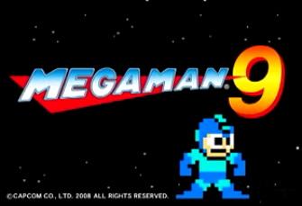 Mega Man 9 artwork & logo screenshot