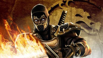 Mortal Kombat's Scorpion sees nothing but bloodlust