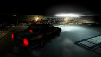 Screenshot of the driving in Alone in the Dark