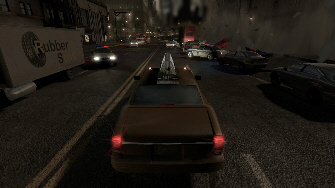 Vehicles and race sequences are a big part of Alone in the Dark (Xbox 360 Screenshot)