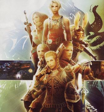 Final Fantasy XII Artwork - Cast