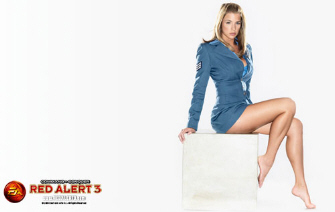 Gemma Atkinson as Eva McKenna in Red Alert 3