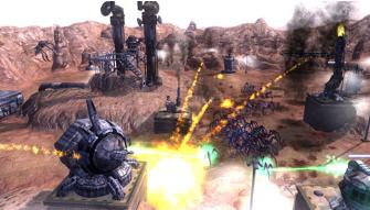 Screenshot of Sony's new PSN title Savage Moon