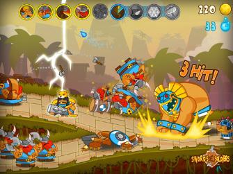 Swords & Soldiers WiiWare Screenshot