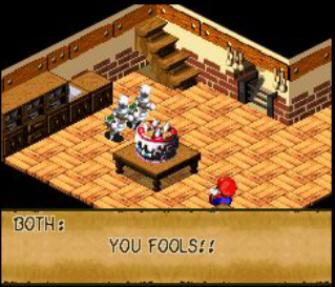Super Mario Rpg Wedding Cake Battle