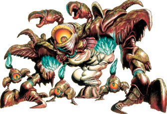 Gohma Boss Artwork (Zelda: Ocarina of Time)