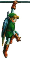 Link Hanging Artwork (Zelda: Ocarina of Time)