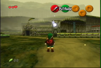 Link Kokori Forest Zelda: Ocarina of Time Screenshot