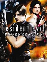 Resident Evil: Degeneration DVD box