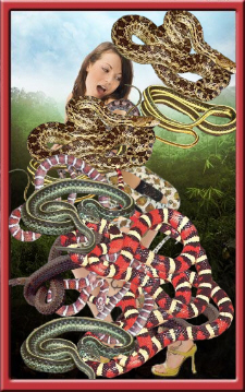 Snakes on a Babe