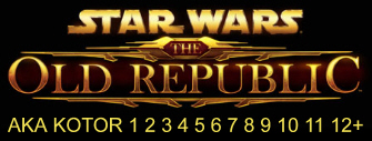 Star Wars: The Old Republic AKA KOTOR 3 logo