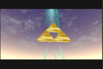 Triforce Screenshot - Zelda Ocarina of Time