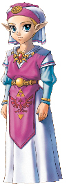 Young Princess Zelda Artwork (Ocarina of Time)