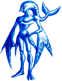 Zora Artwork from Zelda: Ocarina of Time