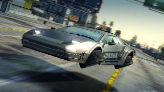 Burnout Paradise DeLorean Jansen 88 Special Hover Car Screenshot