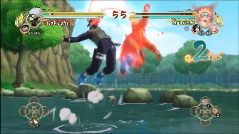 Naruto Ultimate Ninja Storm screenshot