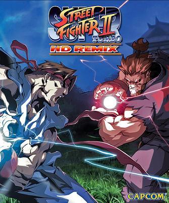 Super Street Fighter II Turbo HD Remix artwork