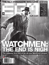 Watchmen: The End Is Nigh Videogame Prequel EGM Cover