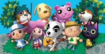 Animal Crossing Character Artwork Banner