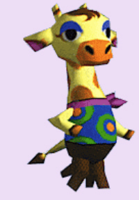 Animal Crossing Gracie Character Artwork