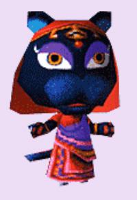 Animal Crossing Katrina Character Artwork
