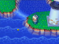 Animal Crossing Screenshot of The Lighthouse