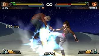 Dragon Ball: Evolution PSP screenshot