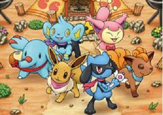 Pokemon Mystery Dungeon: Explorers of the Sky scan