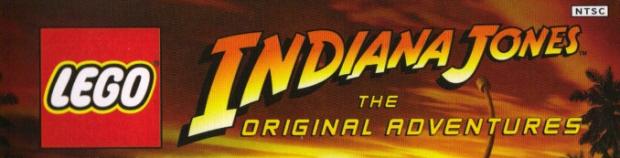 Lego Indiana Jones: The Original Adventures videogame logo