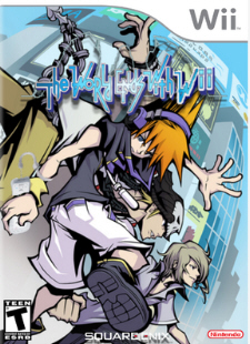 The World Ends With You Wii Fake Boxart