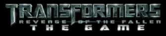 Transformers: Revenge of the Fallen The Videogame Logo
