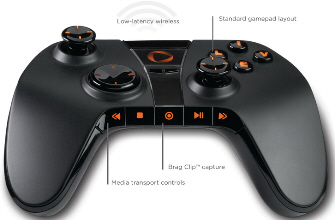 OnLive Controller has exclusive buttons for the console's features