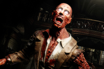 Crimson Head artwork for Resident Evil Remake (not representative of what they look like in-game)