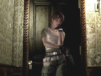 Rebecca Chambers from Resident Evil 1 GameCube remake