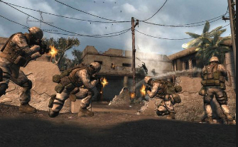 Six Days In Fallujah screenshot. Dropped by Konami