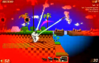 Sonic Unreal Tournament 3 mod/map screenshot