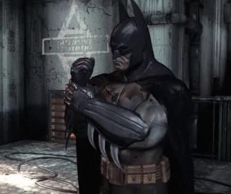 Batman is dismayed that Arkham Asylum is delayed
