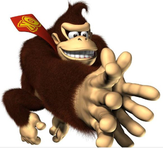 Donkey Kong Jungle Beat DK Clap artwork. New Play Control version