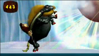 Donkey Kong Jungle Beat Hooter the Bull screenshot