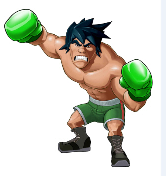 GigaMac artwork from Punch-Out Wii.