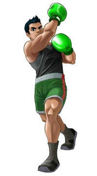 Little Mac artwork from Punch-Out Wii