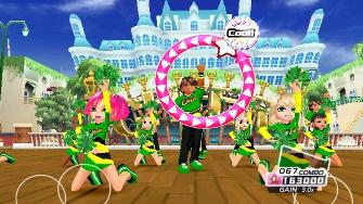We Cheer 2 screenshot. Male cheerleaders FTW!