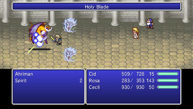 Final Fantasy IV: The After Years WiiWare screenshot