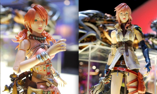 Final Fantasy XIII figurines/toys are coming from Square Enix